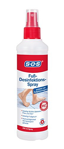 SOS Fuß-Desinfektions-Spray 250ml