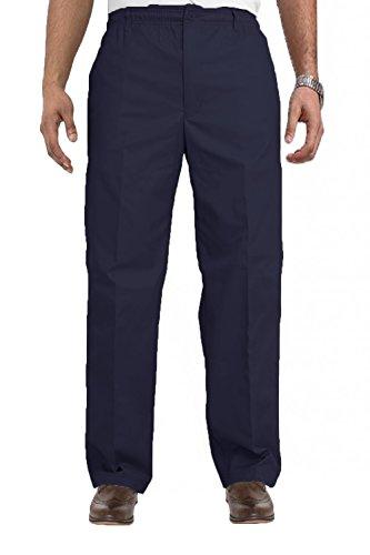 Hommes Carabou Classics King Size Rugby Pantalon Grand Taille Élastique Pantalon De Travail Bleu Marine