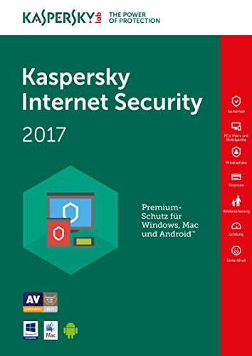 Kaspersky Internet Security 2017 1 Geräte 1 Jahr Medialess Datenrettung by EaseUS