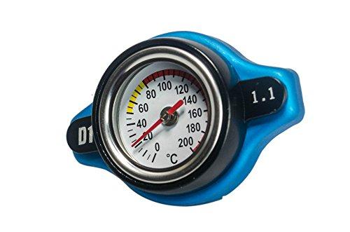 Aeroline D1 - Tapa de radiador, con termostato integrado, que es compatible...