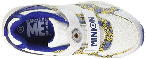 Minions S17951iaz, Sneaker a Collo Basso Bambino Bianco