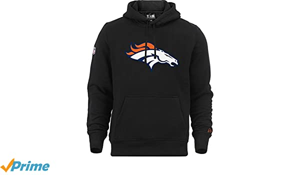 New Era - NFL Denver Broncos Team Logo Hoodie - Schwarz Farbe Black  Amazon. co.uk  Clothing 7ffb9e4d5