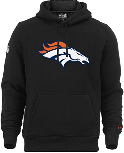New Era - NFL Denver Broncos Team Logo Hoodie - Black - XXL