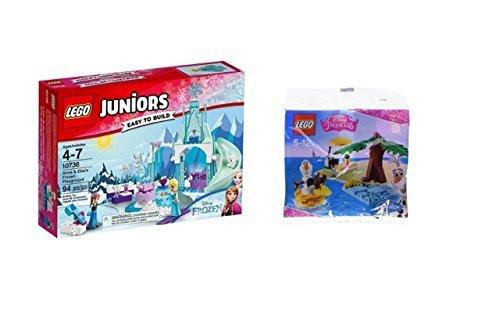 Preisvergleich Produktbild Lego Frozen Set LEGO Juniors 10736 - Annas & Elsas Eisspielplatz und 30397 Olaf Disney Princess Frozen