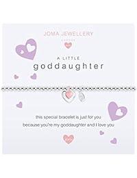 Joma Jewellery Childrens a little Goddaughter bracelet