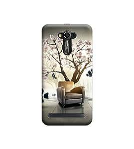 Ebby Premium Printed 3D Designer Back Case Cover For Asus Zenfone 2 Laser ZE550KL (Premium Designer Cae)