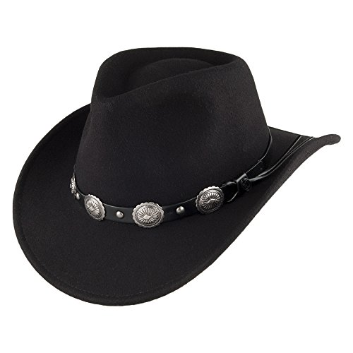 Jaxon & James Chapeau de Cowboy Tombstone Noir Small