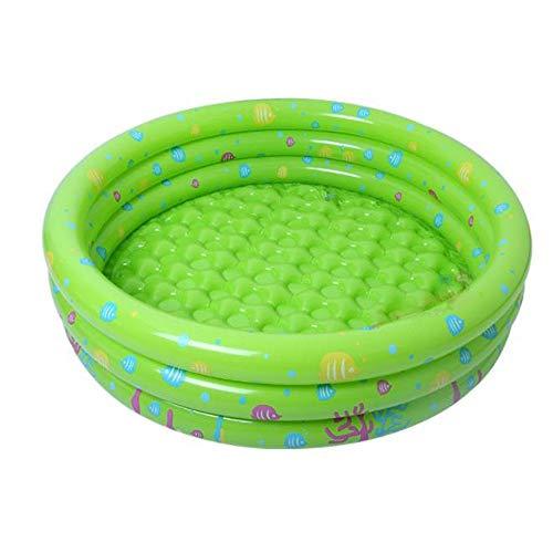 Keliour Schwimmzentrum aufblasbar Kinder Kinder Sommer aufblasbare Runde Form Pool Family Lounge aufblasbare Pool schwimmt übergroßen Ozean Ball Pool Pool für Familienlounge (Pool Schwimmt Runde)