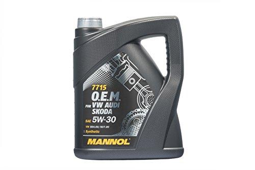 MANNOL 7715 O.E.M. 5W-30 API SN/CF Motorenöl, 5 Liter