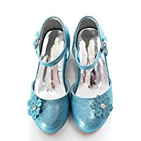 ELSA & ANNA® Mädchen Gute Qualität Schuhe Prinzessin Schnee Königin Gelee Partei Schuhe Sandalen BLU11-SH