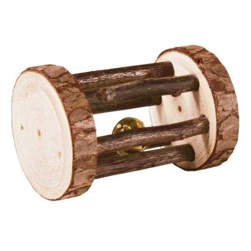 Trixie Natural Living Spielrolle mit Glocke, 7 x 5 cm Durchmesser, 1 Stück