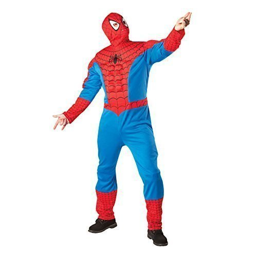 Comic Dress Kostüm Fancy Marvel - Spider-Man Marvel Superhero Fancy Dress Spiderman Costume Xlarge