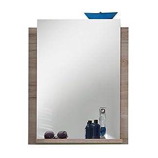 Trendteam 1316-401-90 Campus – Espejo de baño con balda (imitación de roble, 60 x 75 x 15 cm), color roble, roble(oak)