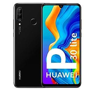 "HUAWEI P30 lite 15.6 cm (6.15"") 128 GB 4G Black 3340 mAh P30 lite, 15.6 cm (6.15""), 2312 x 1080 pixels, 128 GB, 24 MP, Android 9.0, Black"