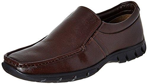 BATA Men's Remo Brown Formal Shoes - 8 UK/India (42 EU)(8514583)