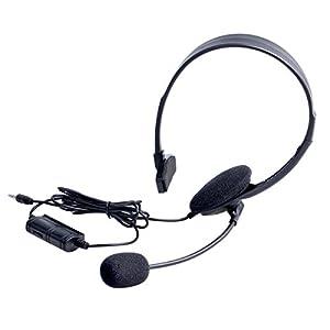OSTENT Wired Headset Kopfhörer Kopfhörer Mikrofon kompatibel für Sony PlayStation 4 PS4 Spiel