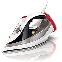 Plancha a vapor Philips, modelo Azur Performer. Funciones vapor/seco. Cable de 2 m. Supervapor 200 g/min.Vapor continuo de 45 g/min