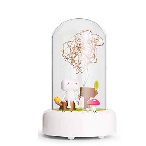 NCBH Bluetooth Lautsprecher Nachtlicht Tragbare Lampe Wunschflasche Bluetooth Audio Ewige Blume Meteor Garten Geburtstagsgeschenk Mädchen Kreatives Geschenk