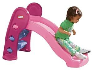 little tikes 171611 jeu de plein air toboggan junior rose jeux et jouets. Black Bedroom Furniture Sets. Home Design Ideas