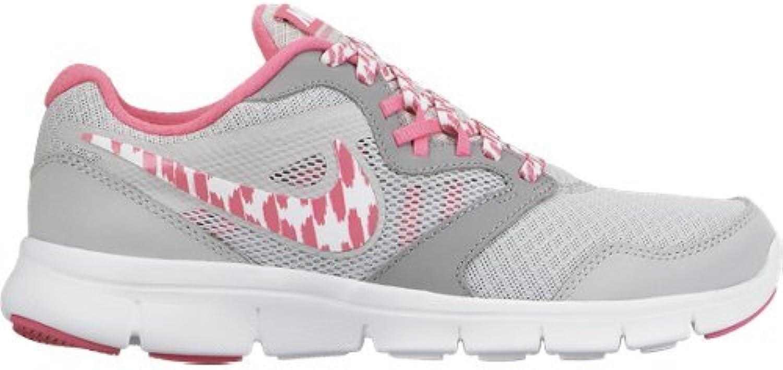 nike  's flex expérience 3 gs chaussures - Gris et , rose et Gris blanc, taille 5 c0d585