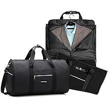 d5702e5625 Borsa Porta Abiti Trasportabile, Bagaglio a mano Borsa da viaggio per  completi e vestiti senza
