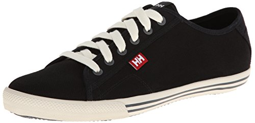 Helly Hansen Fjord Canvas, Formateurs Homme Noir (Black/off White/birch)
