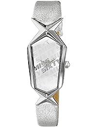 Miss Sixty SCJ004 - Reloj con correa de acero para mujer, color plateado / gris