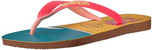 Havaianas Frauen Flip Flops Braun Groesse 11 US /42 EU