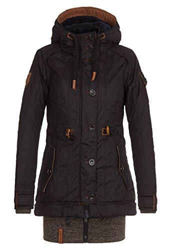 Damen Jacke Naketano Langes F§dchen, Faules M§dchen IV Jacke, Größe XS, Farbe Black