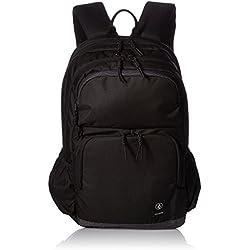 Volcom - Roamer Backpack, Mochilas Hombre, Schwarz (Ink Black), 17x32x47 cm (B x H T)