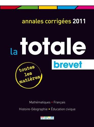 Brevet : Annales corrigées par Lionel Cuaz, Marielle Fonseca, Philippe Lehu, Alain Malle
