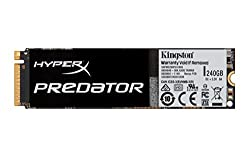 Kingston HyperX Predator 240GB PCIe Gen2 x4 (M.2) Solid State Drive (SHPM2280P2/240G)