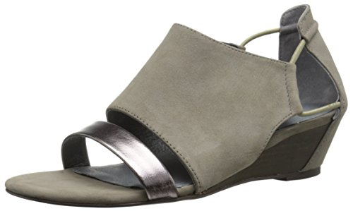 Matisse Port Cuir Sandales Compensés Grey
