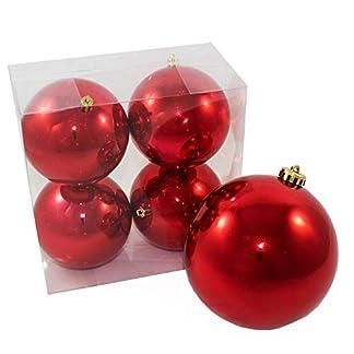 Annastore-5-TLG-Set-XXL-Weihnachtskugeln-fr-Drauen-frostsicher-und-wetterfest-zum-Hngen–10-cm-14-cm-Christbaumkugeln-Christbaumschmuck-Baumkugeln-fr-Outdoor