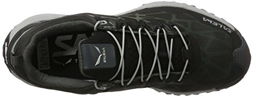 SALEWA Multi Track Gore-Tex Halbschuh, Scarpe Sportive Outdoor Donna Multicolore (Black/silver)