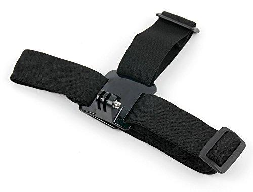 DURAGADGET Zubehörset ohne Tasche für APEMAN Trawo (A100), A79, A77, A80, A66, A60, A70 Action Cam