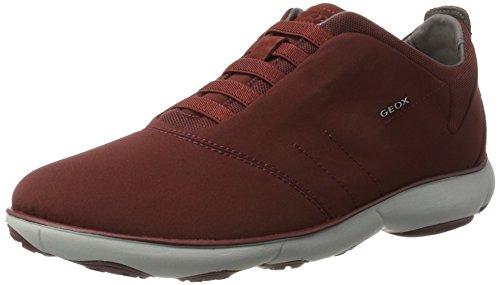 Geox Jungen U Nebula F Sneaker Rot (Wine)