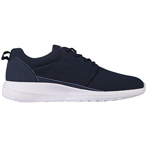 Kappa - Speed Ii Footwear Unisex, Mesh/Synthetic, Scarpe da ginnastica Unisex – Adulto Blu (6710 Navy/white)