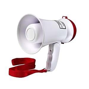 Intenso Mini Fan-Megaphone inkl. Batterien, 16x10x10 cm
