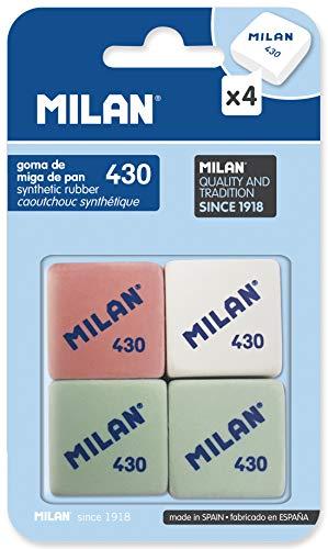 Milan BMM9215 - Pack 4 gomas borrar