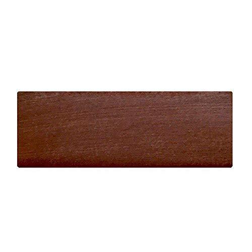 Möbelfuß Rechteck Holz Kirschen Höhe 6 cm -