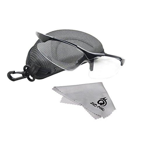 ryask (TM) UK Universal Outdoor Sport Radfahren Sonnenbrille Sicherheit Eyewear Goggle für Mountain Road Fahrrad transparent Gläser