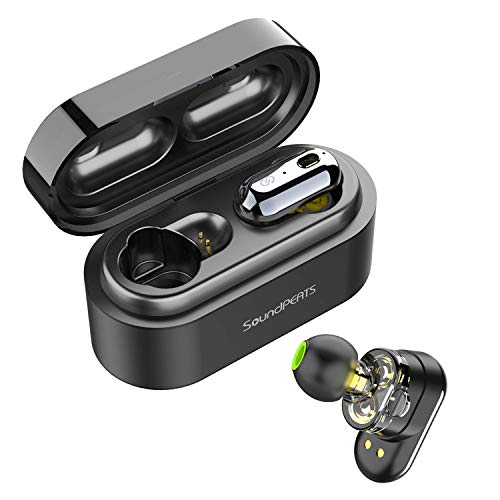 Auriculares Inalámbricos Bluetooth 5.0 TWS SoundPEATS