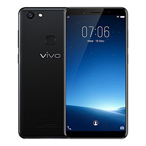 VIVOV7 Mobile Phone 5.7 inch Android 7.1 Qualcomm Snapdragon 450 Octa Core 1.8GHz 4GB RAM 32GB ROM 4G Phablet 24.0MP Selfie Camera Fingerprint Sensor (Black)