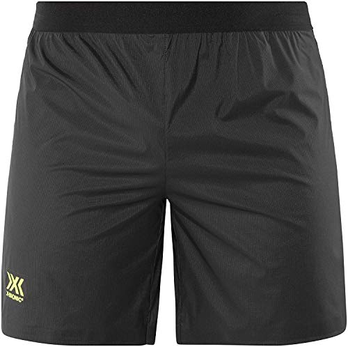 X-Bionic Aero Running Pants Short Men Black/Neon Yellow Größe XL 2018 Laufsport Shorts (Neon Running Shorts)