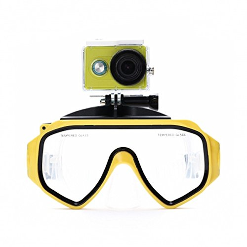 Alamor Gafas De Buceo Originales Gafas para Xiaomi Yi Acción Sport Camera