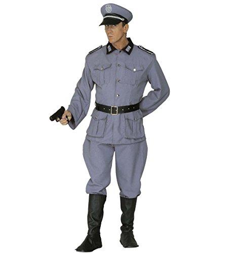 Deutscher Kostüm Hut Offizier (Widmann 44722 - Deutsches Soldaten Kostüm für Herren, Größe)
