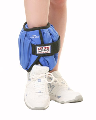 All Pro Weight Adjustable Ankle Weight, 20-LB...