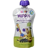 HiPP Pflaume-Johannisbeere in Birne - Greta Giraffe, 6er Pack (6 x 100 g)