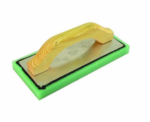 Holz Float (BON 83-10312Zoll von 12,7cm von 3/4-Zoll feinen grün Schaumstoff Float mit Holz Griff)